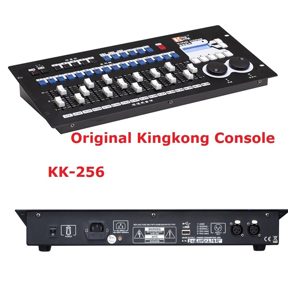 King Kong 256 DMX Controller Dj Equipments DMX512 Console Stage Lighting For LED Par Moving Head Spotlights DJ Controller
