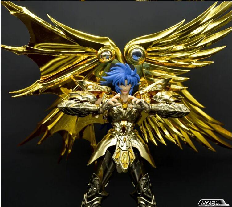 Jmodelo gemini saga soul of gold metal armadura ex sog figura de ação modelo