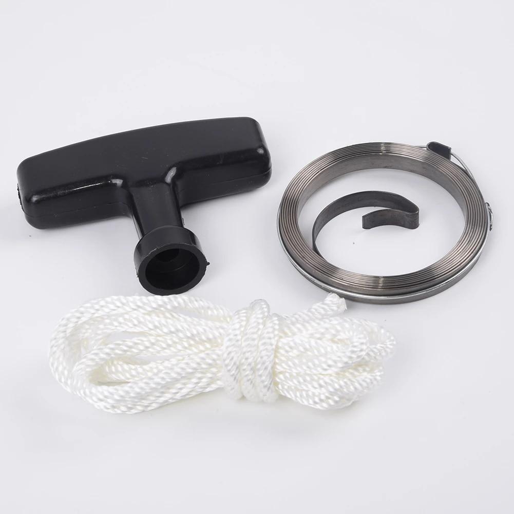 Rope Recoil Starter Spring Parts Kit 5.5HP 6.5HP Motor For Honda GX160 GX200