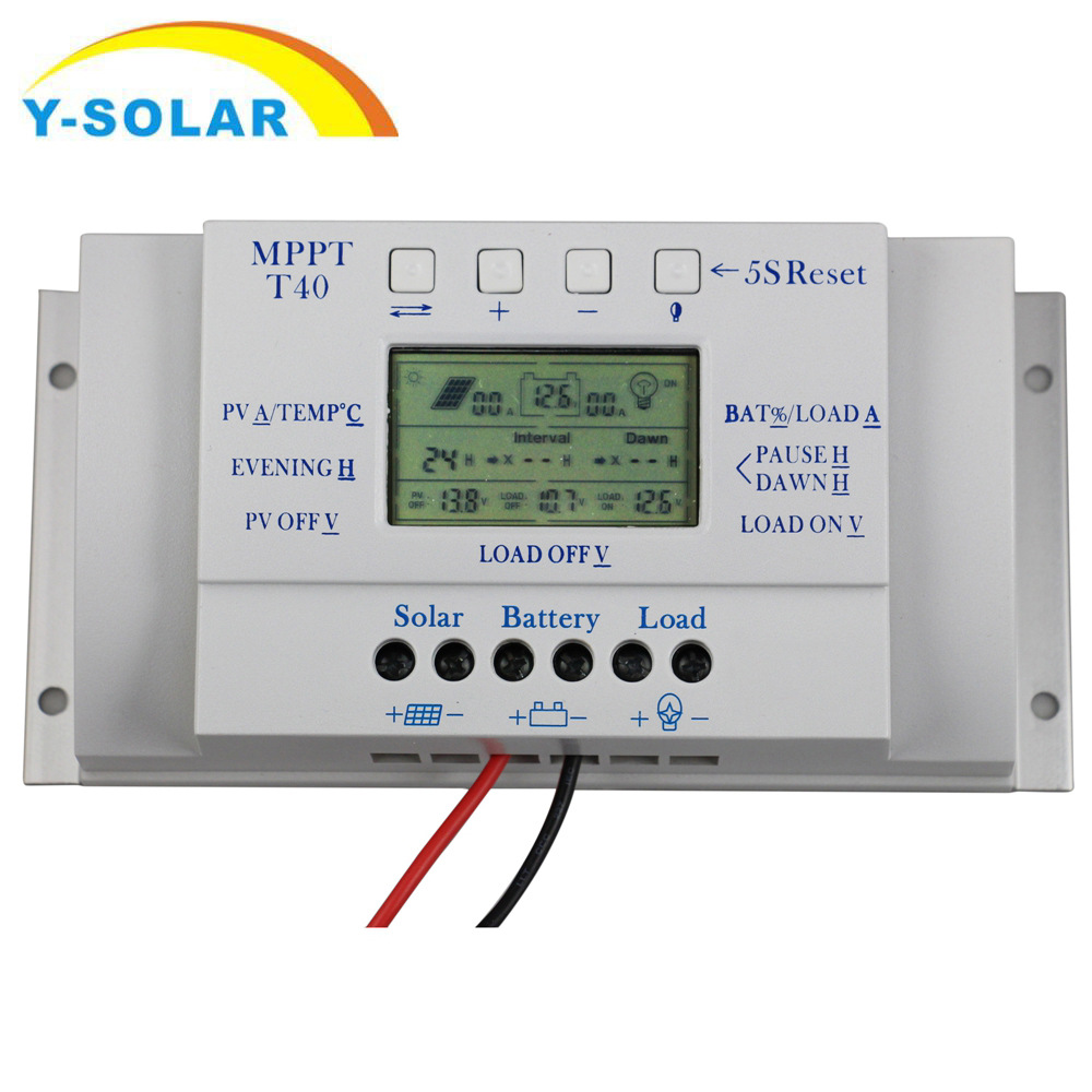 Cross Border For Solar PWM Controller MPPT40A Can Improve Charging Efficient 30%