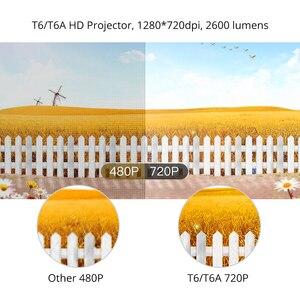 Image 2 - TouYinger T6 портативный HD светодиодный проектор HDMI ( Android Wifi опционально) видео проектор Поддержка 4K Full HD 1080p домашний кинотеатр