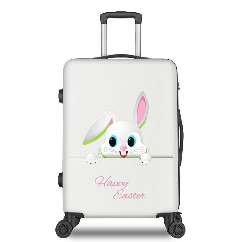 2019 Cartoon 20/22/24/26 Inch Child Trolley Case Students Travel Spinner Luggage Women Rolling Suitcase Fashion Boarding Box