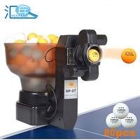 HUIPANG Table Tennis Robot PING PONG tenis Machine Automatic tabletennis Free 80pcs 40+ pingpong balls Pinpong Training