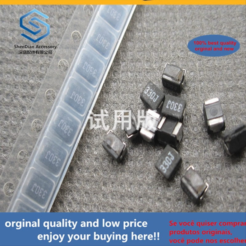 50pcs 100% Orginal New Best Quality Wire Wound Inductor 1210 33uH 5% NLV32T-330J-PF Plastic Package Inductor Silk Screen: 330