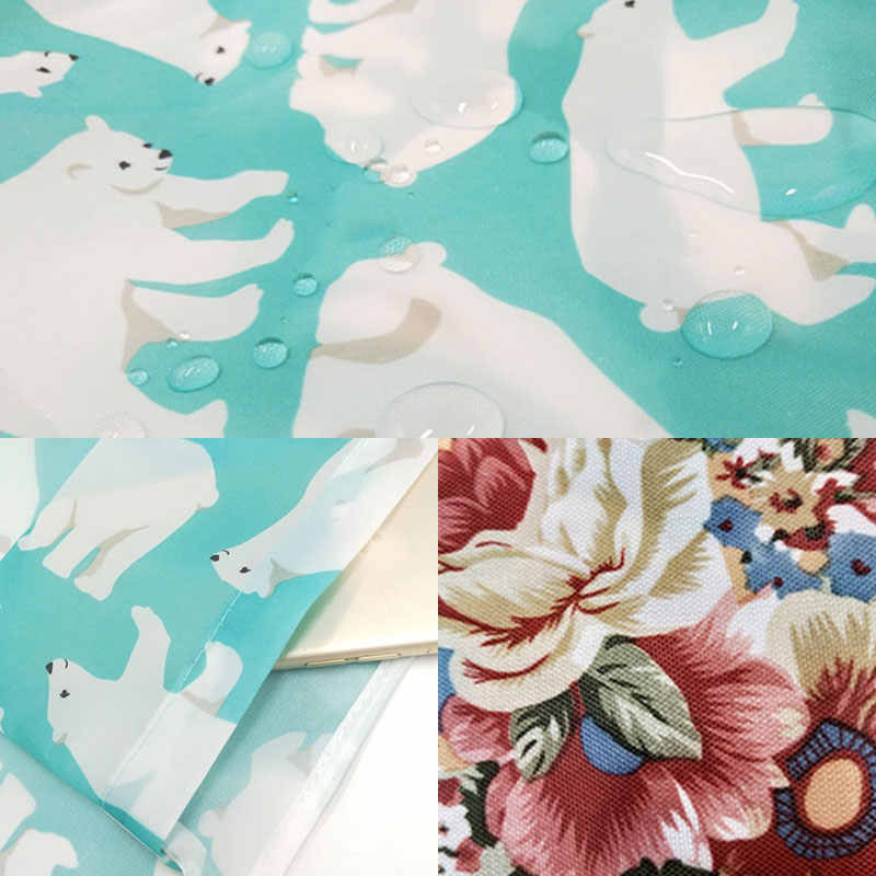 재사용 가능한 배송 가방 동물 꽃 인쇄 주머니 에코 접는 식료품 가방 스토리지 쇼핑 가방 핸드백 캐주얼 만화 주머니 2020