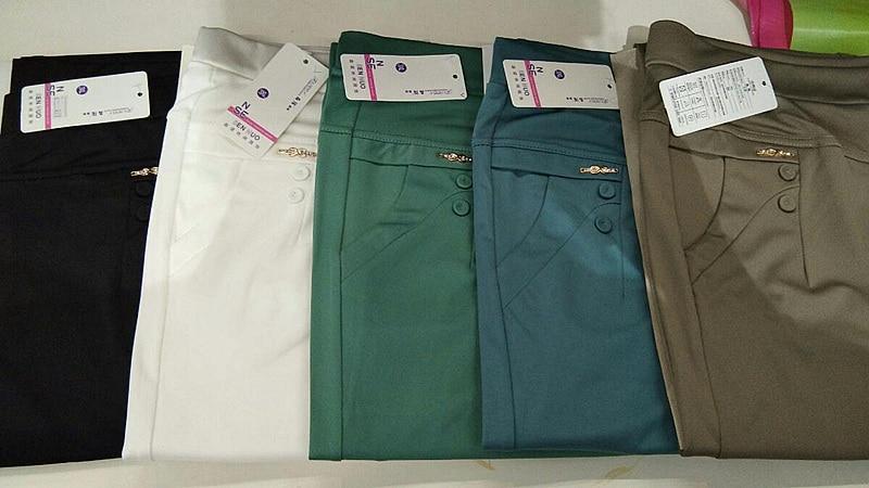 Купить мусульманские модные однотонные контрастные обтягивающие брюки