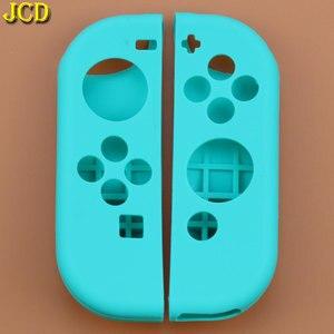 Image 3 - JCD 1 مجموعة مكافحة زلة سيليكون لينة حالة ل التبديل NS الغطاء الواقي الجلد ل Nintend التبديل الفرح يخدع تحكم التبعي