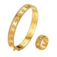 HONGHONG Клевер шаблон кубического циркония браслеты и наборы браслетов четырехлистный клевер роскошный темпераментный стиль ювелирные изделия