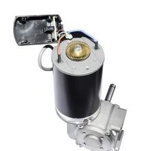 Fast Shipping DC 24V High Torque Worm Gear Motor 60W 220 RPM 100W 250RPM Intelligent Encoder Electric Motor for Automatic Door стоимость