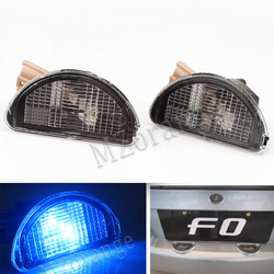 MZORANGE Rear License Plate LED Light Registration Plate Lamp For BYD F0 2008 2009 2010 2011 2012 2013 2014 2015 High Quality