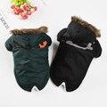 Утолщенная теплая одежда для собак, светоотражающая куртка для щенка, куртка для питомца, осенне-зимняя одежда для маленьких собак, одежда д...