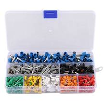 Insulated Cord End Terminal Wire Awg Ferrules 600Pcs Kit Set