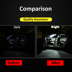 Image 2 - 13pcs Canbus Reverse Lights For Nissan Fo Qashqai J10 J11 2007 2019 LED License Plate Lamp+Interior Roof Map Dome Light Bulbs