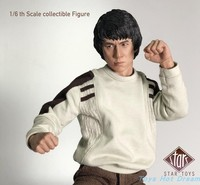 Collectible Full Set SoliderSTT 001 In Stock 1/6 Scale Jackie Chan Police Force Action Figure Doll Model Toys for Fans collect