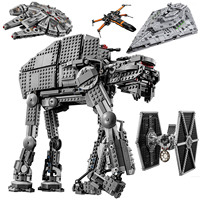 2020 NEW Star Wars Series First Order Heavy Assault Walker Building Block Bricks Compatible Starwars Toys Compatible lepinblock