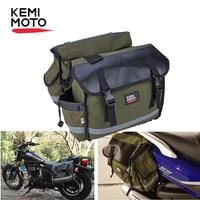 Motorrad Tasche Sattel Motorrad gepäck tasche Reise Knight Rider Für Sportster 883XL 1200 Cruiser Für Kawasaki Vulcan auf