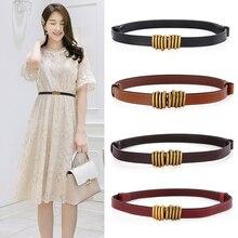 Designer belts for women high quality genuine leather belt luxury brand ceinture femme 2020 adjustable easy dress cummerbunds