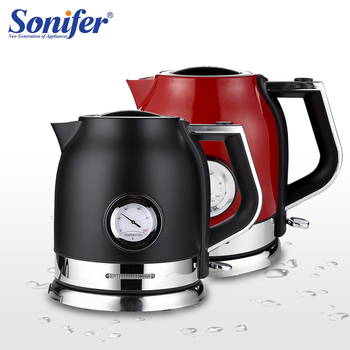 1.8l Electric Kettle Stainless Steel Kitchen Smart Whistle Kettle Samovar Tea pot With Water Temperature Control Meter Sonifer 1