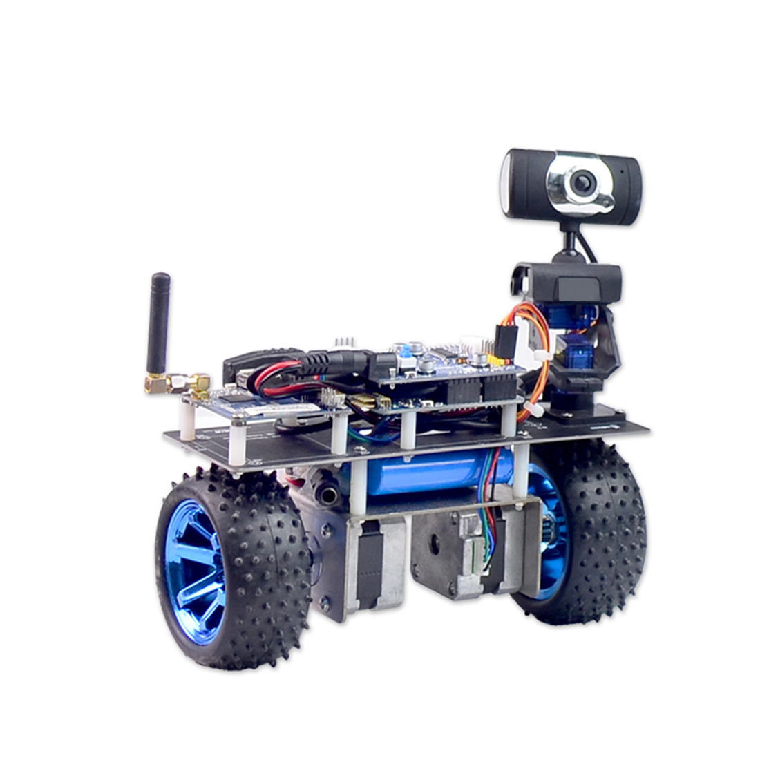 DIY Stem Programmable Intelligent Balance Car WiFi Video Robot Car Support IOS/Android APP PC Remote Control For STM32