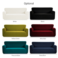 Universal Jacquard Stretchable Chair/Loveseat/Sofa Cover Strapless Slipcover Removable Washable Covering Mat Furniture Protector