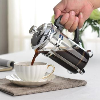 350/600/1000ml Coffee Tea Pot Manual French Presses Pot Coffee Maker Filter Pot Cafetera Expreso Percolator Tool Tea Filter Cup 3