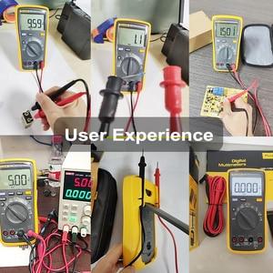 Image 5 - Fluke 17B+ Auto Range Digital Probe Multimeter Meter Temperature & Frequency