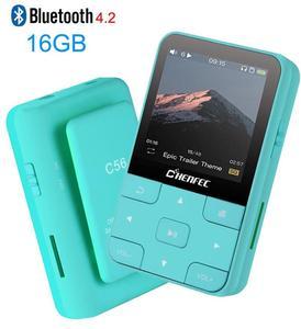Image 1 - مشبك صغير الرياضة Bluetooth5.1 مشغل MP3 2020 نسخة جديدة MP3 مشغل موسيقى مع FM ، مسجل ، دعم TF/SD بطاقة + شارة الحرة