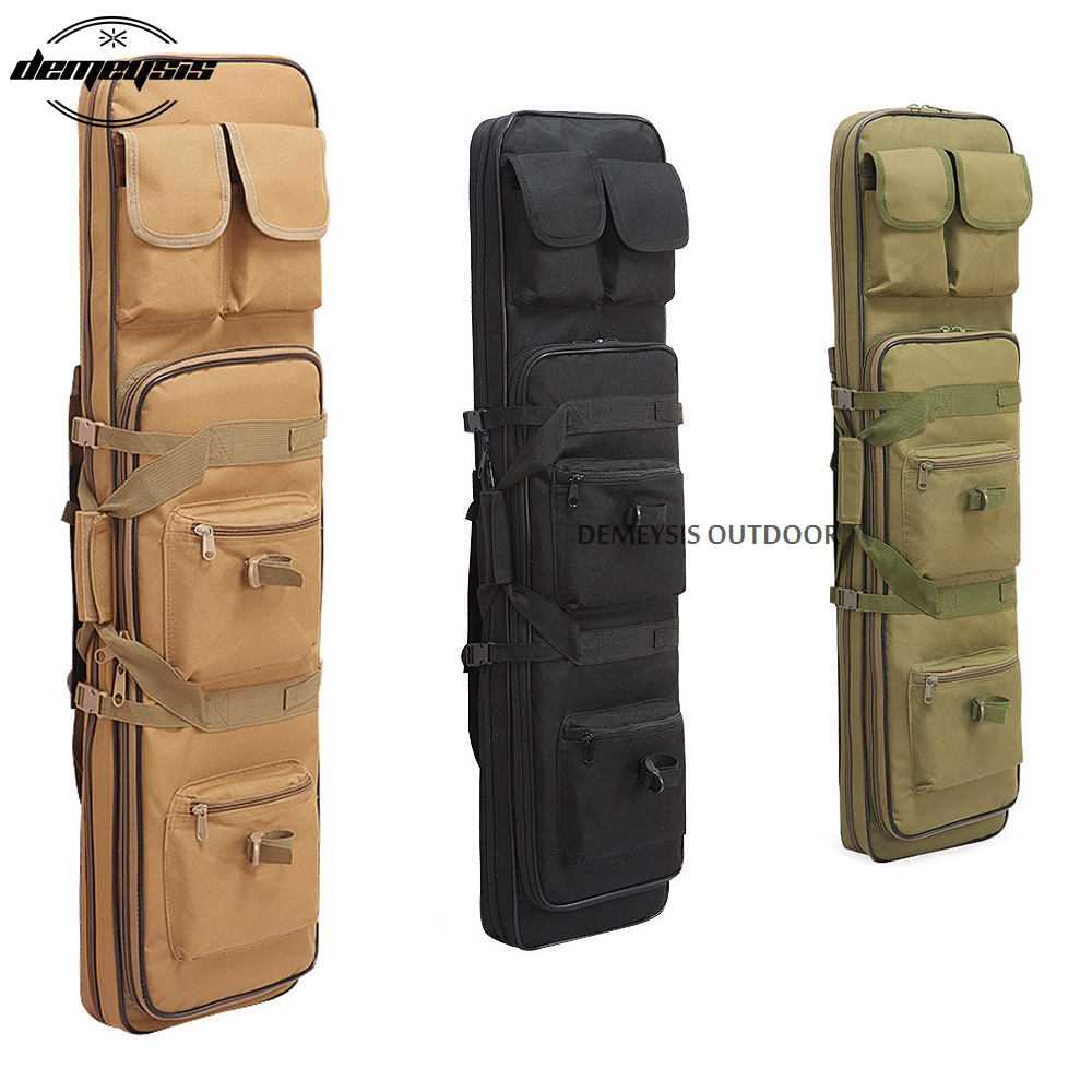 3 Size Military Hunting Gun Bag Airsoft Square Gun Bag Nylon Hunting Backpack Tactical Shotgun Bag Protection Gun Case Backpack