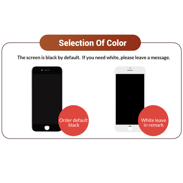 New Premium For iPhone 5S SE 6S Plus LCD Screen Tianma Replace with Touch Screen For iPhone 7 8 Plus Display Black