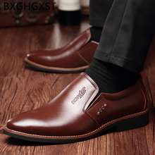 Boots Loafers Dress Italian-Shoes Coiffeur Classic Genuine-Leather Mens Mens