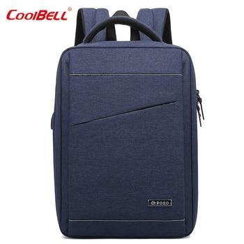 2019 Men Backpack Customized Backpacks Business Korean Version of Computer Bags Business Travel Urban Leisure School Bags