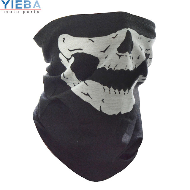 Full Face Motorcycle Face Shield winter Face Mask Ghost Mask 3D Skull Sport Mask Neck Warm Windproof Outdoor Motorbike Parts 1