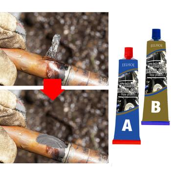 50g klej do metalu Super klej podłączanie klej do naprawy rury zbiornika paliwa klej do naprawy Caster klej temperatura i odporność na olej klej tanie i dobre opinie CN (pochodzenie) Metal Repair Glue wholesale dropshipping
