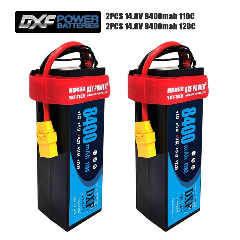 DXF 5000mAh 3S 11.1V 50C 100C LIPO BATTERY XT90 CAR TRUCK HELI QUAD ARRMA RC