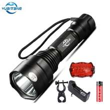 Мощный светодиодный велосипедный фонарь водонепроницаемый 5