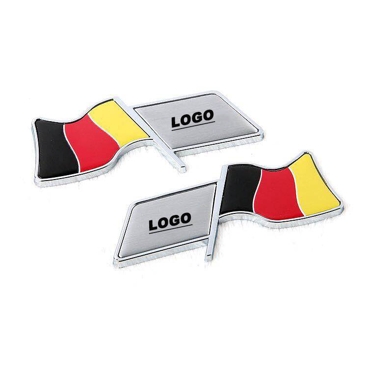 Car sticker German flag logo sticker for Golf Polo Touran Passat CC R36 Beetle car styling in Car Stickers from Automobiles Motorcycles
