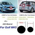 2 шт. 125 мм 110 мм ABS автомобильный передний Гриль значок задний багажник эмблема логотип для гольфа MK5