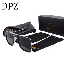2019 DPZ Avengers Tony Stark Flight 006 Style Sunglasses Men Square Av