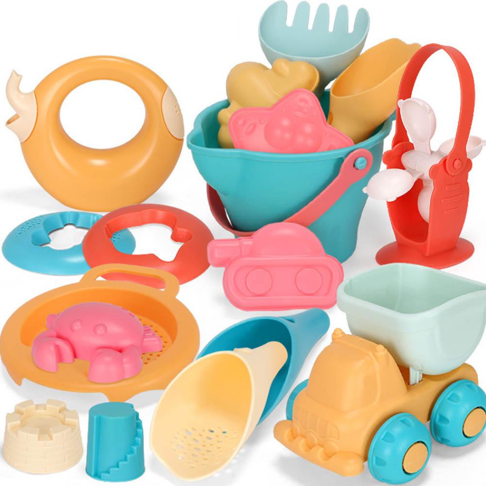 Portable Beach Sand Toys Set Digging Shovel Tools Bath Water Playing Toy