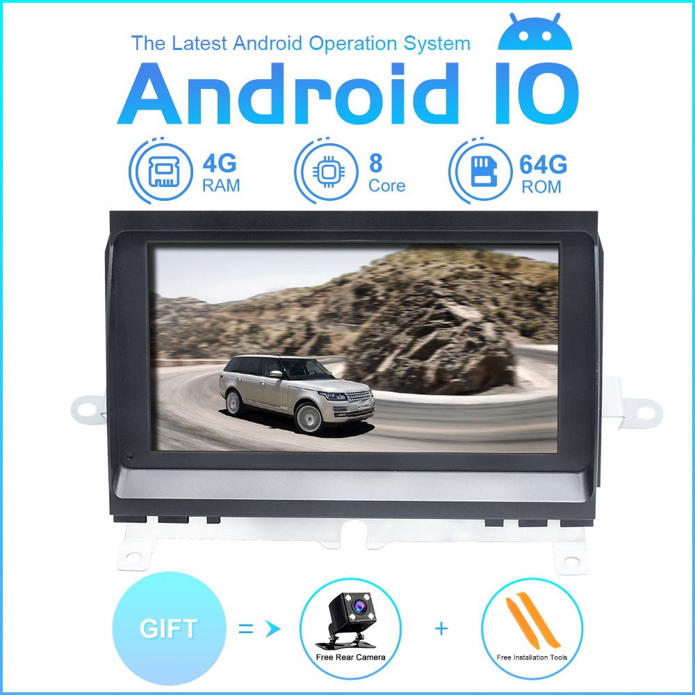 ZLTOOPAI Android 10 Car Multimedia Player Radio For Land Rover Discovery 3 LR3 L319 2004-2009 Stereo GPS Navigation Head Unit