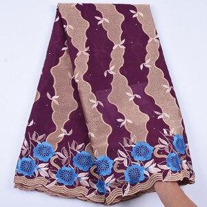 Image 5 - Tanie bawełniany materiał szwajcarski koronkowy woal w szwajcarii z kamieni afryki tkanina koronkowa typu dry Lace wysokiej wysokiej jakości nigeryjski koronki FabricA1692