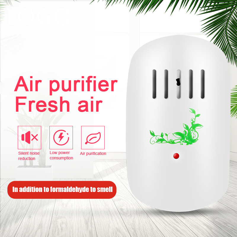 Mini Air Purifier Freshener Cleaner Plug-in Odor Air Smoke Filter for Home Room QP2