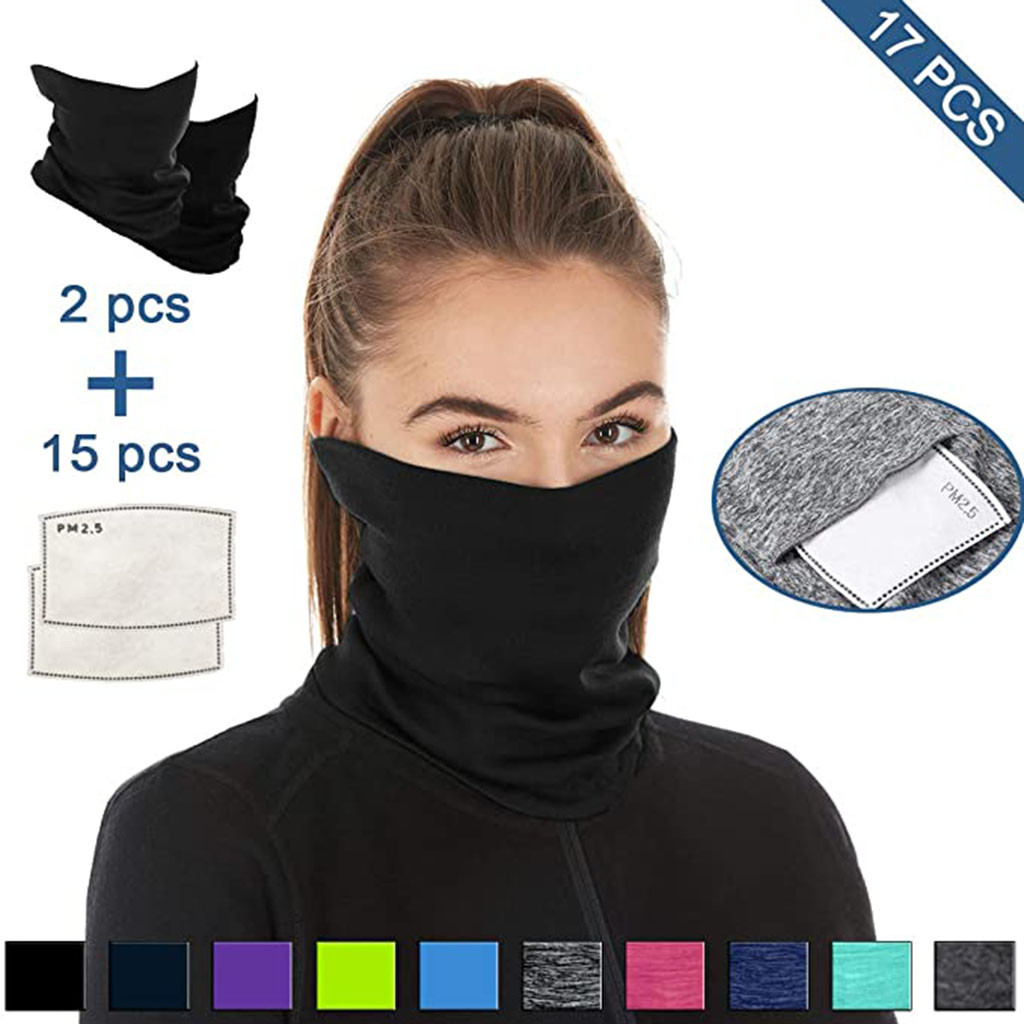 Hafbbc0eff22c410c84a38166d2ecc53eU Multifunctional Head Scarf Maske Facemask Face Mouth Neck Cover With Safety Filter Mascarillas Washable Bandanas Reusable