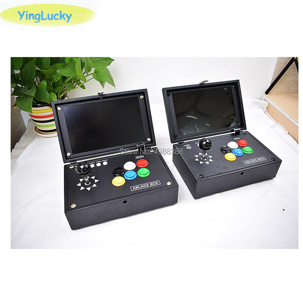 10  Raspberry Pi 4B portable game console  arcade games contains 10 000 kinds of installed game joystick zero delay