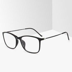 Image 5 - BCLEAR moda TR90 okulary ramki mężczyzn lub kobiet Ultralight Unisex plac zwykły szkło okulary męskie oprawki na okulary Hot