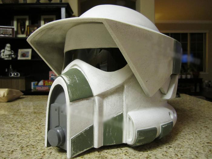 Star Wars Troops Soldier Helmet 1:1 Can Wearable 3D Paper Model Casual Puzzle Decoration DIY Handmade Toy