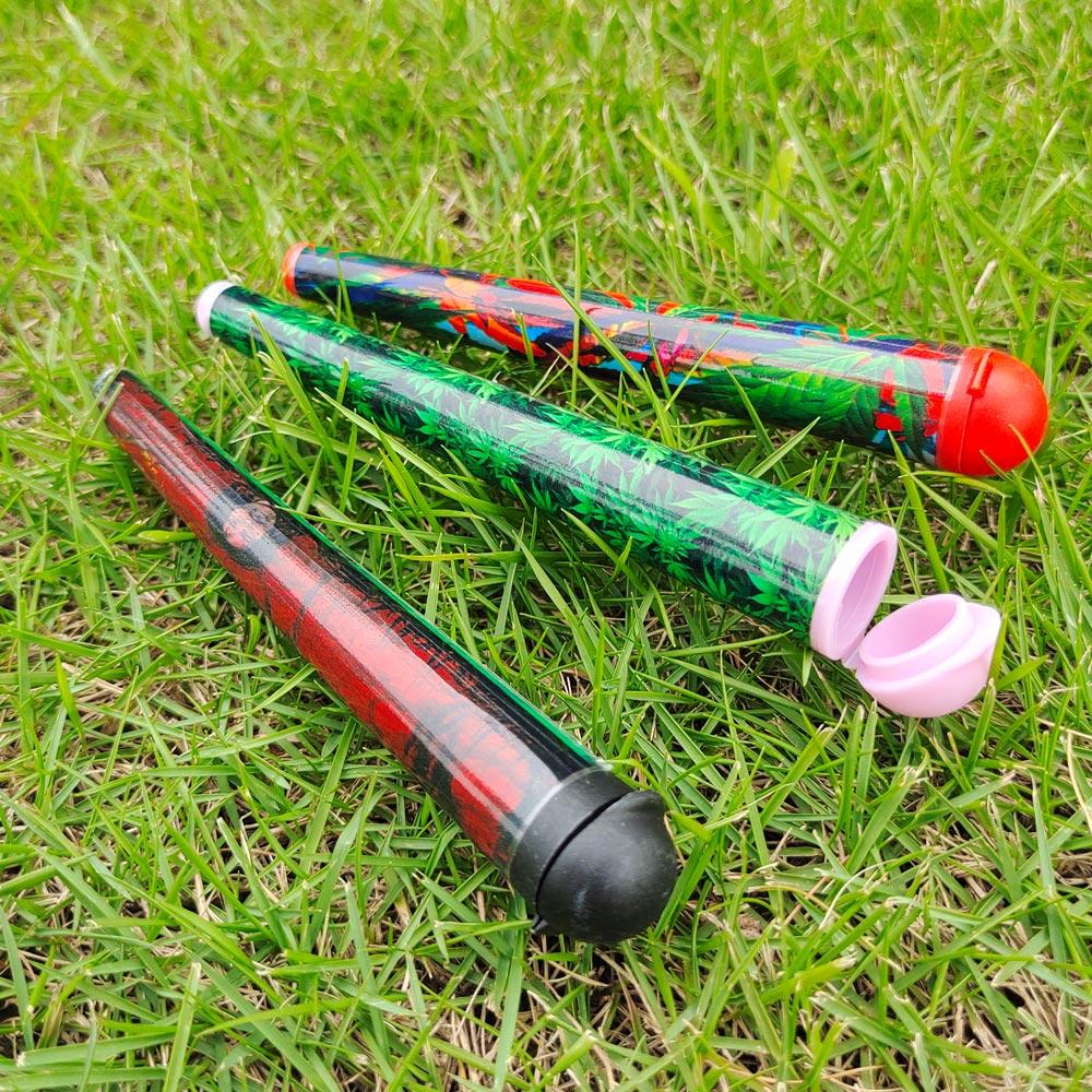 Doob Tubes 120MM planque pot Joint support stockage papier cônes support étanche étanche à lair pilule boîte sans cône