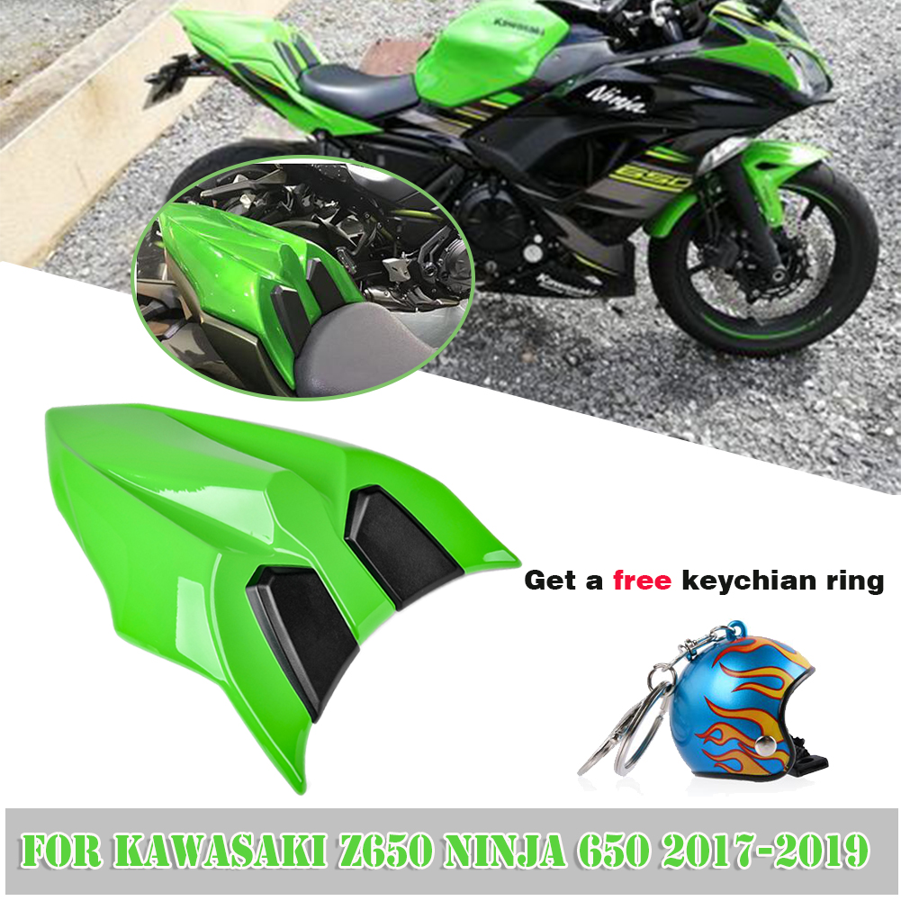 Motorcycle Rear Seat Cowl Cover Tail Section Fairing For Kawasaki Z650 NINJA 650 2017 2018 2019 Accessories Rear Seat Cover Cowl