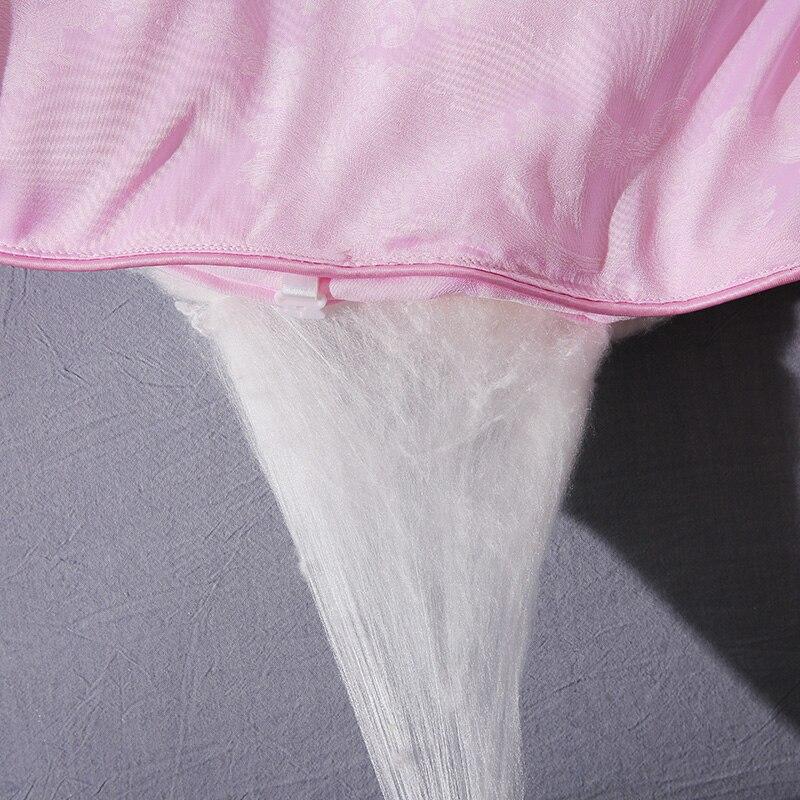 Купить sondeson роскошное женское одеяло из 100% тутового шелка розового