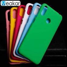 Matte Plastic Coque Cover 6.3For Asus Zenfone Max M2 ZB633KL Case For Asus Zenfone Max M2 ZB633KL Phone Back Coque Cover Case